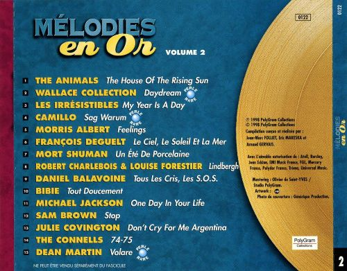 Mélodies en Or, Vol. 2