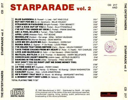 Starparade, Vol. 2 [Entertainers]