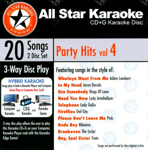 Karaoke: Party, Vol. 4 [Audio Stream]