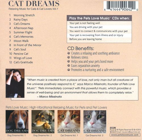 Cat Dreams: Relaxing Music For Cats & Cat Lovers, Vol. 1