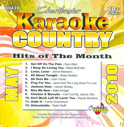 Karaoke: Country Hits of the Month: May 2010