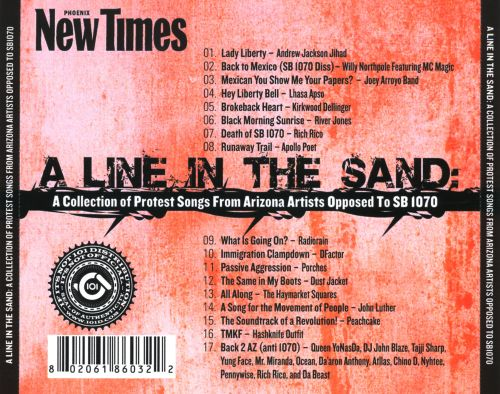 A Line In The Sand: A Collection Of Protest Songs From Arizona Artists Opposed To SB 1070