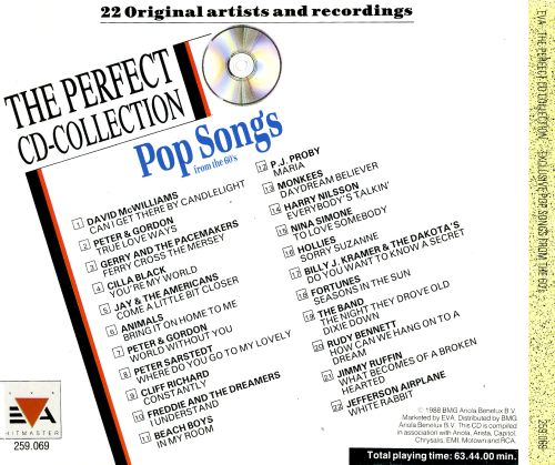 Exclusive Pop Songs from the 60s