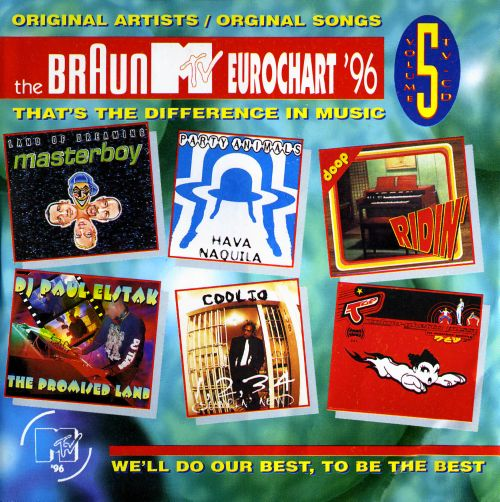 The  Braun MTV Eurochart '96, Vol. 5