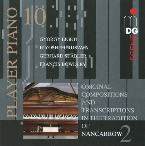 Original Compositions and Transcriptions in the Tradition of Nancarrow 2
