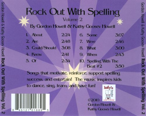 Rock Out With Spelling, Vol. 2