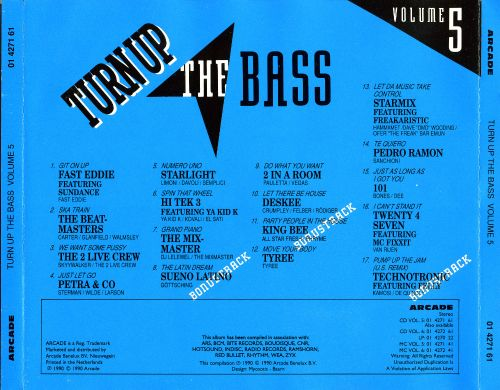 Turn Up the Bass, Vol. 5