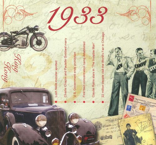 1933: A Time To Remember The Classic Years