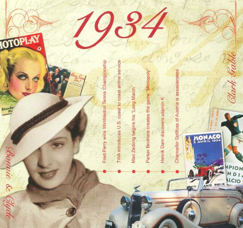 1934: A Time To Remember The Classic Years