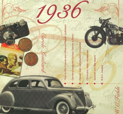 1936: A Time To Remember The Classic Years