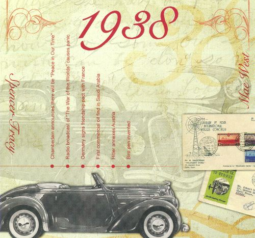 1938: A Time To Remember The Classic Years