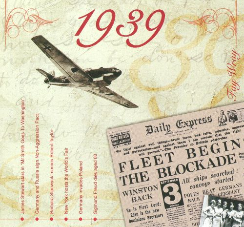 1939: A Time To Remember The Classic Years