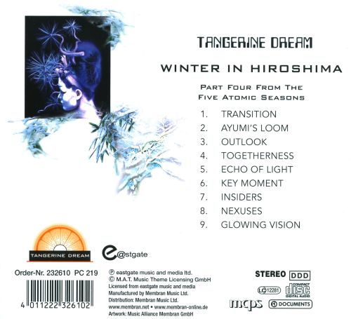 Winter in Hiroshima: Part Four from the Five Atomic Seasons