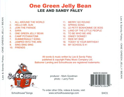 One Green Jelly Bean