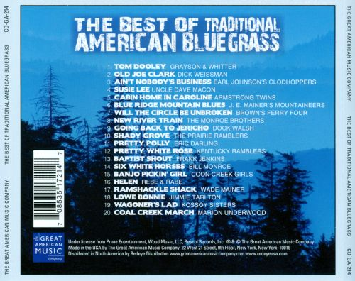 The  Best of Traditional American Bluegrass