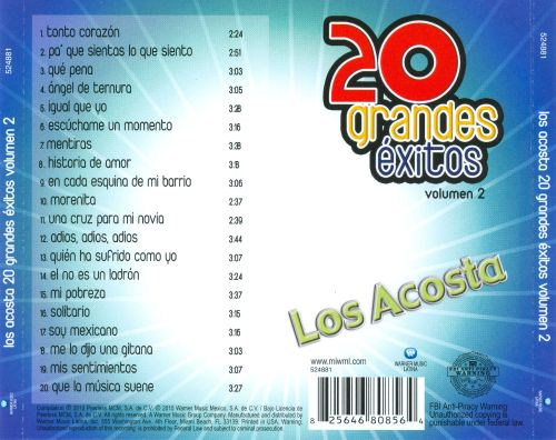 20 Grandes Éxitos, Vol. 2