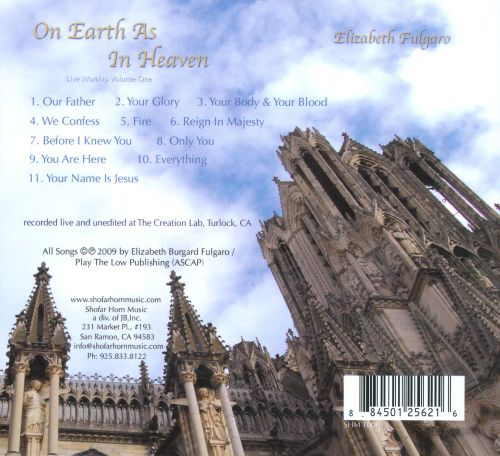 On Earth As In Heaven: Live Worship Volume One
