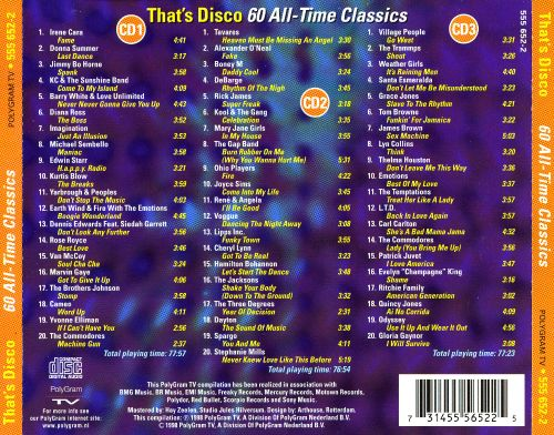 That's Disco: 60 All-Time Classics