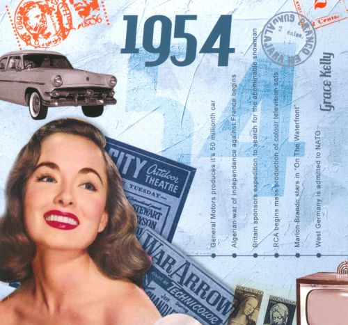1954: A Time To Remember The Classic Years