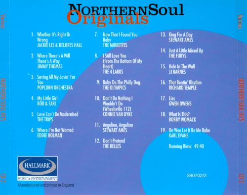Northern Soul Originals, Vol. 2