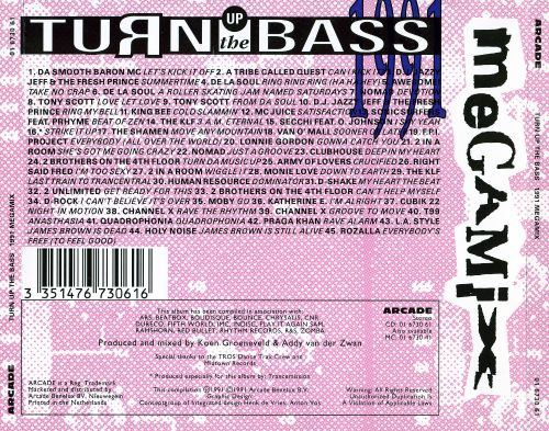 Turn Up the Bass: 1991