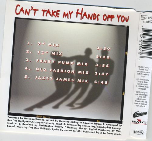 Can't Take My Hands Off You [Single]
