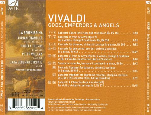 Vivaldi: Gods, Emperors and Angels