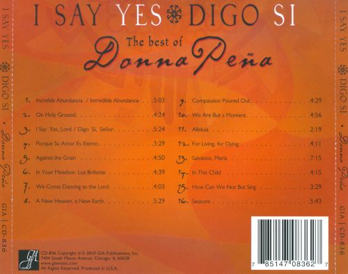 I Say Yes/Digo Si: The Best of Donna Pena