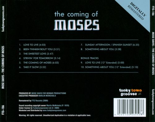 The Coming of Moses