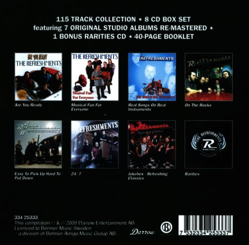 8 CD Collection