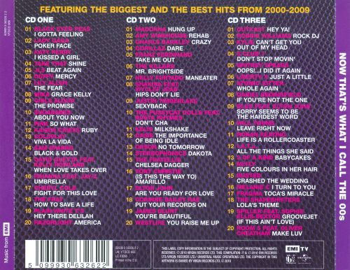 series now thats what i call the 00s songs