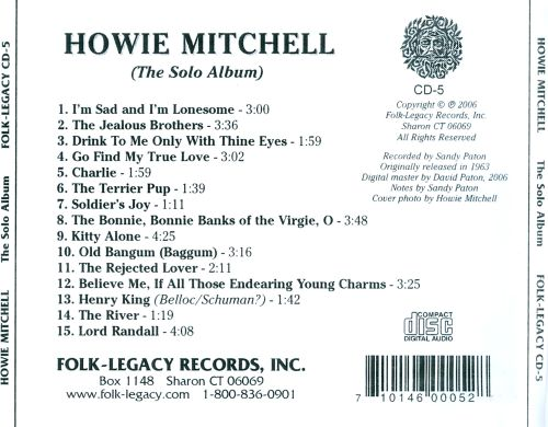 Howie Mitchell: the Solo Album