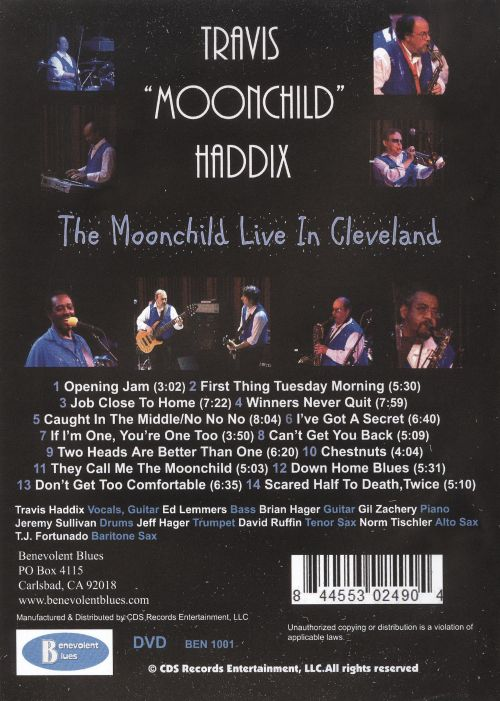 The  Moonchild Live in Cleveland