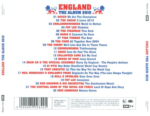 England: The Album 2010