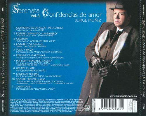 Serenata, Vol. 3: Confidencias de Amor
