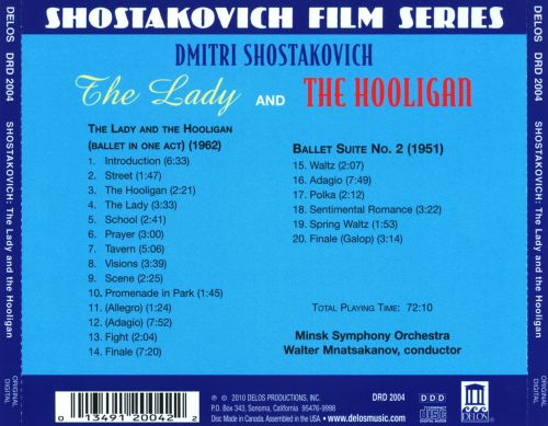 Shostakovich: The Lady and the Hooligan; Ballet Suite No. 2
