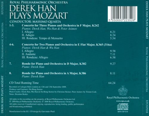 Derek Han Plays Mozart