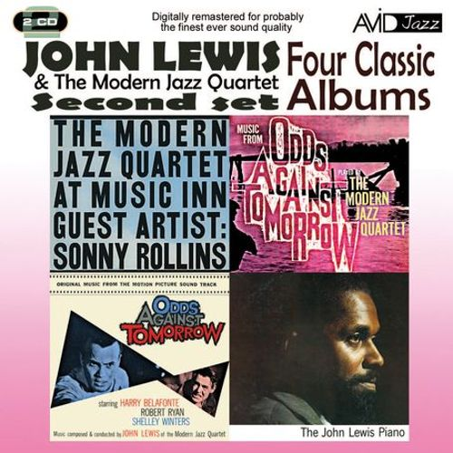Four Classic Albums (At Music Inn Vol.2/Odds Against Tomorrow/The John Lewis Piano/Odds Againt Tomorrow - Soundtrack)