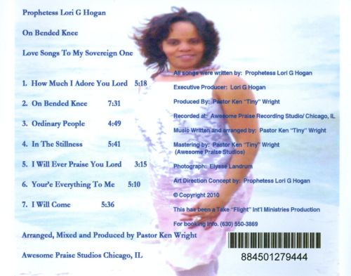 On Bended Knee: Love Songs to My Sovereign One