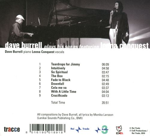 Dave Burrell Plays His Songs