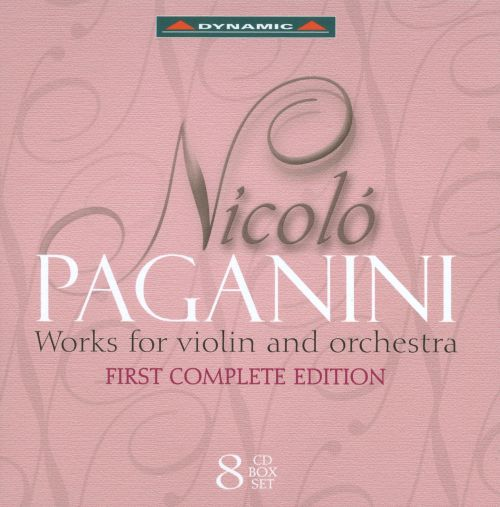 Paganini: Works for Violin and Orchestra