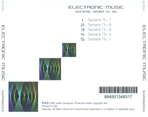 Sonare: Work No. 84 - Electronic Music