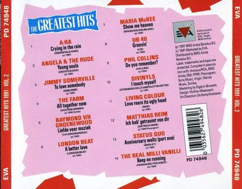 The  Greatest Hits 1991, Vol. 2
