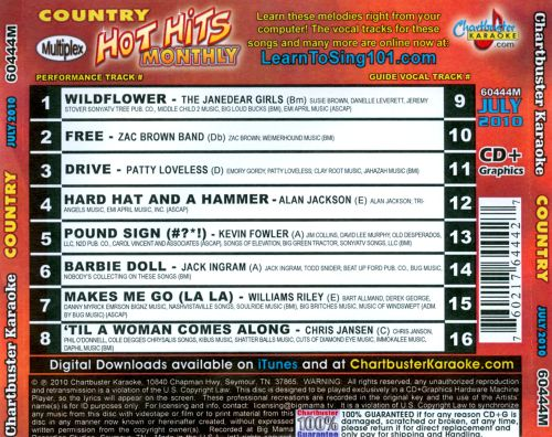 Hot Hits Country: July 2010