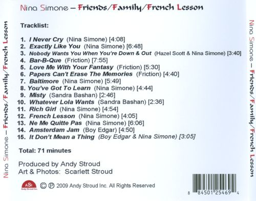 Family/Friends/French Lesson