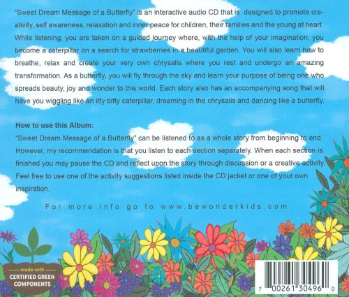 Sweet Dream Message of a Butterfly: A Guided Journey of Imagination