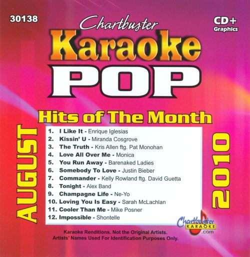 Chartbuster Karaoke: Pop Hits of the Month - August 2010