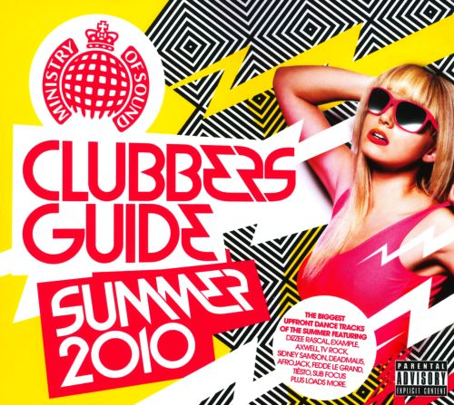 Fitness Dvd Ministry Of Sound: Clubbers Guide Summer 2010 - Various Artists