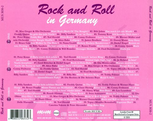 Rock and Roll in Germany
