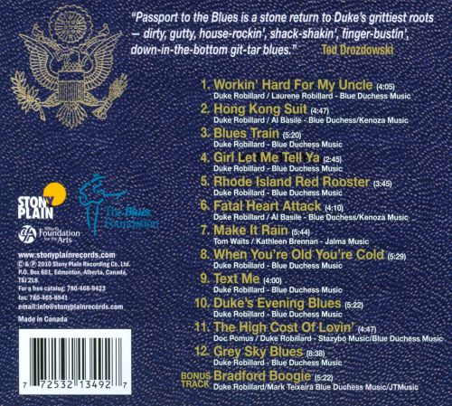 Passport to the Blues